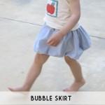 bubble skirt