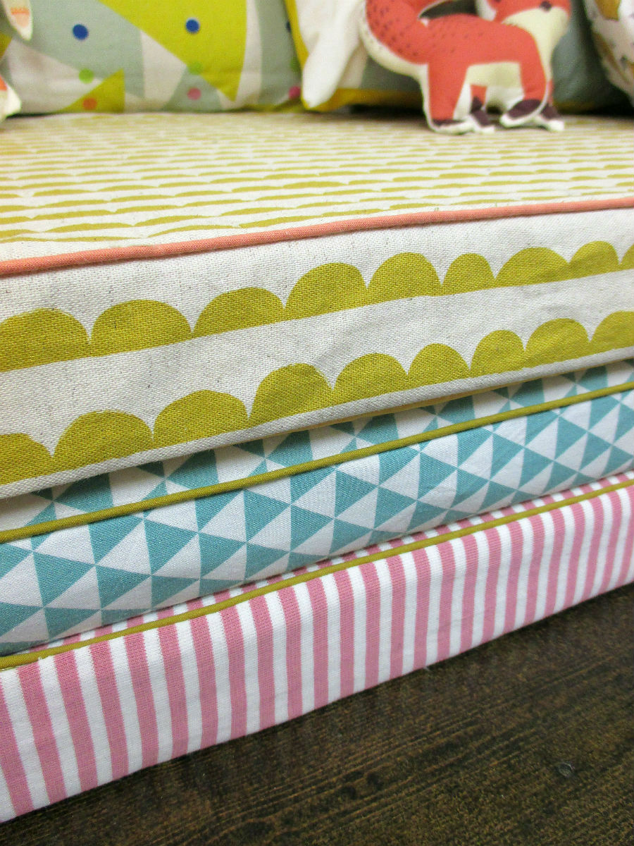 Tutorial Mattress Covers With Piping Straightgrain