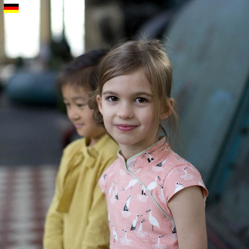 Laure qipao Kleid (Deutsch) - StraightGrain